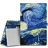 MoKo Case for Fire HD 8 2015 [Previous 5th Gen ONLY] - Slim Folding Cover with Auto Wake/Sleep for Amazon Kindle Fire HD 8' Display Tablet (2015 Release, NOT FIT Fire HD 8 2016), Starry Night