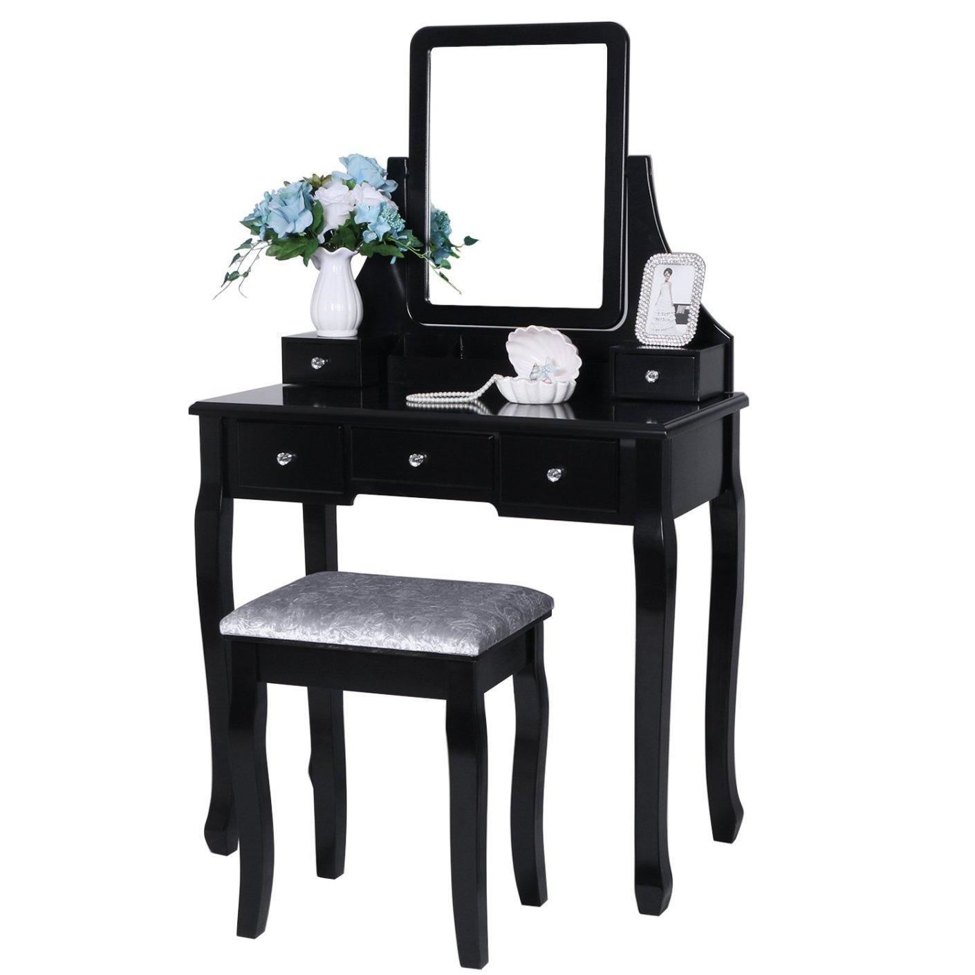 mesa de maquillaje de cambiador 5 CAJONES https://amzn.to/2rwLIv8