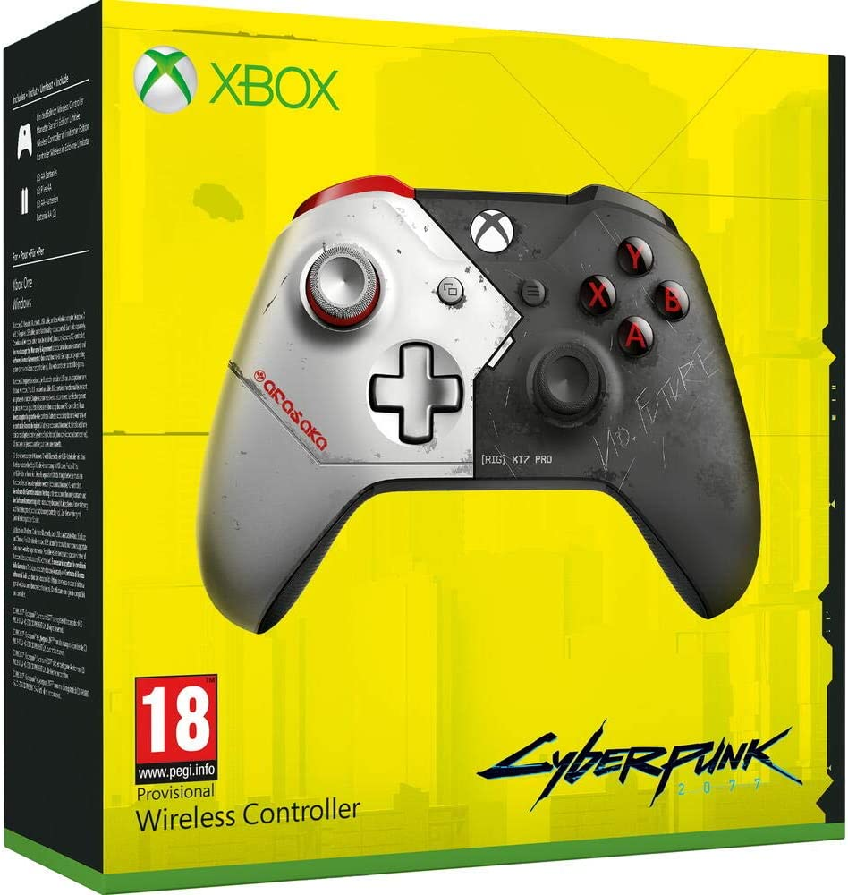 Manette sans fil Edition Limitée Cyberpunk 2077 Xbox One