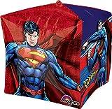 "Anagram International Superman Cubez Balloon Pack, 15"", Multicolor"