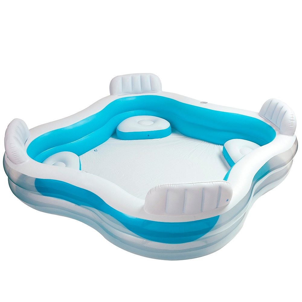 Intex Swim Center Family Lounge Pool Review - Pools and Tubs