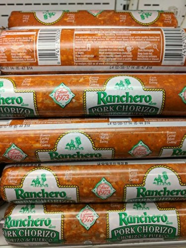 Ranchero Pork Chorizo 9 Oz (8 Pack)