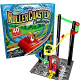ThinkFun Roller Coaster Challenge STEM Toy and Building Game for Boys and Girls Age 6 and Up - TOTY Game of the Year Finalist