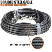 BV-Pet-Super-Heavy-XXL-Tie-Out-Cable-for-Dogs-up-to-250-Pound-25-Feet