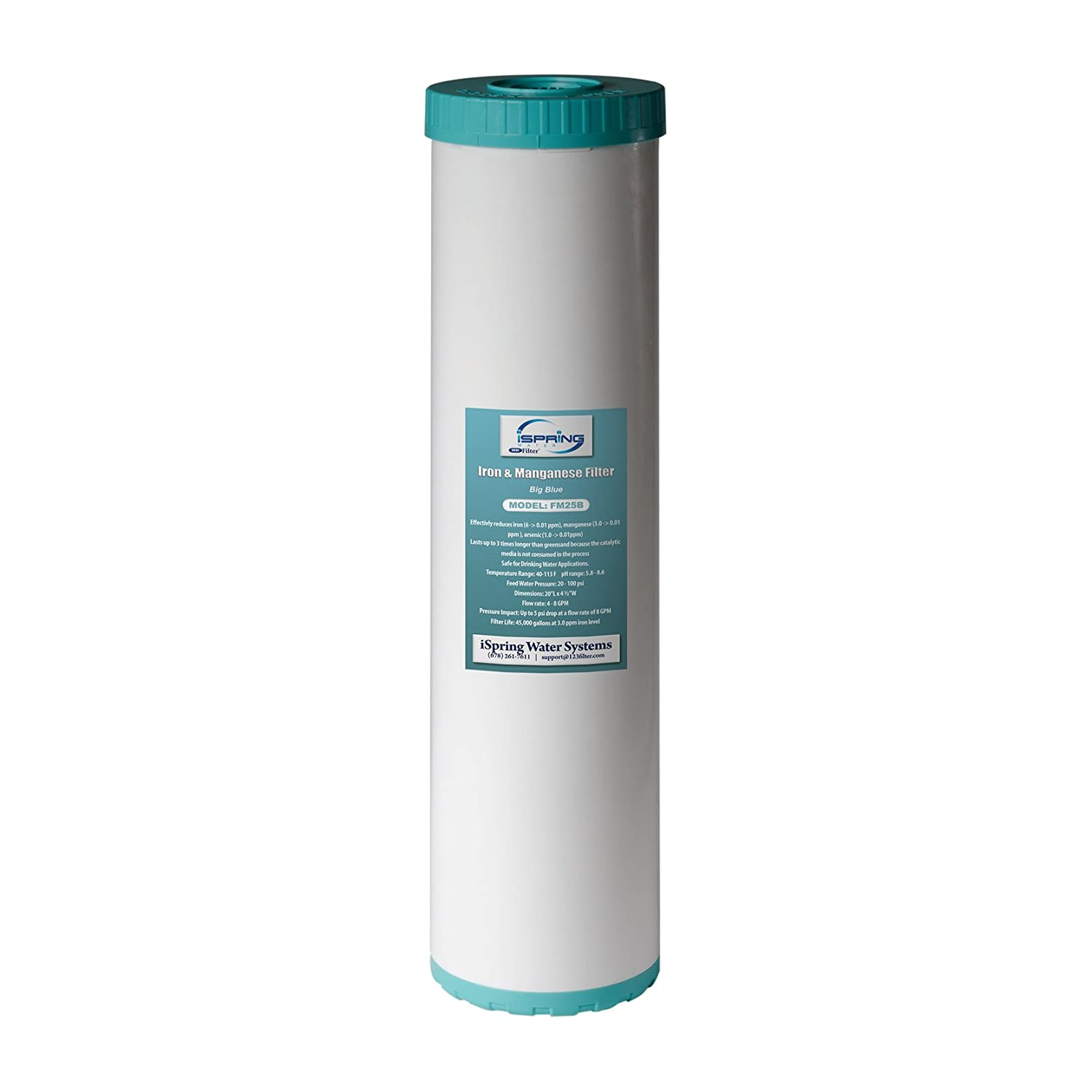 iSpring FM25B 4.5″ x 20″ Big Blue High Capacity Replacement Water Filter