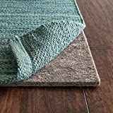 RUGPADUSA, Anchor Grip, 9'x12', 1/4' Thick, Felt + Rubber, Premium Non-Slip Rug Pad, Available in 3 Thicknesses, Many Custom Sizes, Safe for All Floors