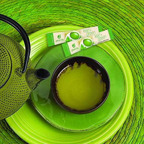 Lean + Green, Premium, 100% Sencha Green Tea, Super Citrimax (Garcinia Cambogia) & Gymnema Sylvestre, for Weight Management, Appetite Control and Sugar Balance 24 ct, Javita 5