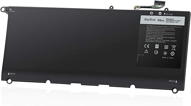 Amazon Com Rayhom 90v7w 9343 Laptop Battery For Dell Xps 13 9343 13 9350 Ultrabook P54g P54g001 P54g002 Rwt1r 0rwt1r 0drrp 0n7t6 Din02 Jhxpy 0jhxpy 0n7t6 00n7t6 Electronics