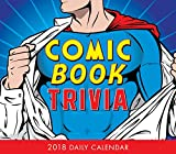 Comic Book Trivia 2018 Boxed/Daily Calendar (CB0251)