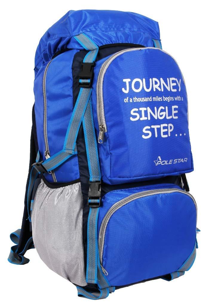 Rocky Polyester Travel Bag 60 Lt Blue Weekend Backpack Bag