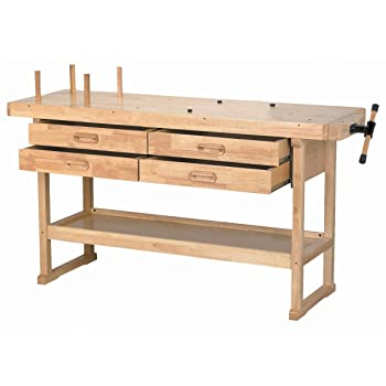 Windsor Design Workbench with 4 Drawers review