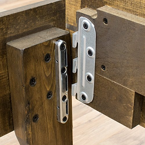 Wood Platform Bed Frame Queen Size Modern Wooden Design Solid Wood Made In U S Easy