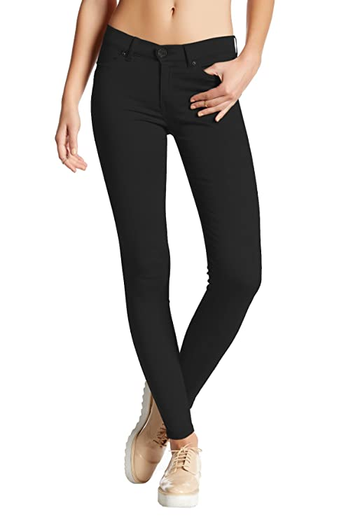 pantalones elasticos color negro para mujerhttps://amzn.to/2SvdjrT