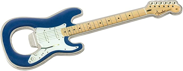 Stratocaster Blue Bottle Opener