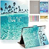 iPad Mini Case, Mini 2/3 Case, Dteck Lightweight PU Leather Auto Wake/Sleep Flip Stand Case with Magnetic Cover for Apple iPad Mini 3/ 2/ 1, About Live it