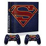 Controller Gear WB Supergirl Suit, Official Console & Controller Skin Combo Set - PlayStation 4
