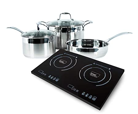 True-Induction-2-burner-portable-cooktop-with-5-pc-induction-cookware