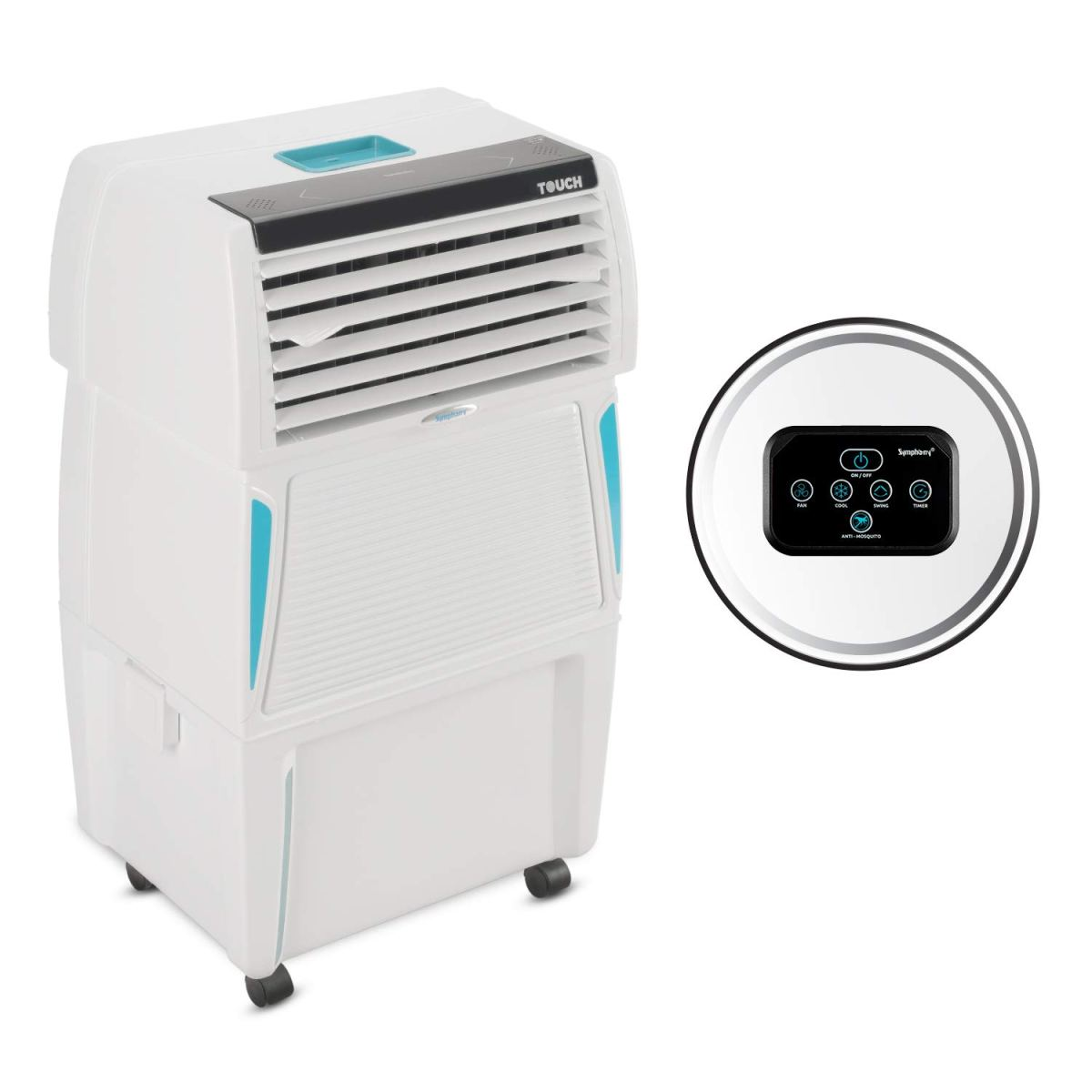 Symphony Touch 35 Personal Air Cooler 35-litres with Remote  2020