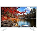 Supersonic SC-2211-WH White AC/DC HDMI 1080p 22' LED Widescreen HDTV Television