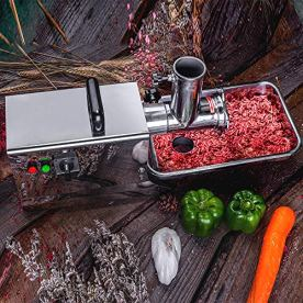 Zica-Electric-Stainless-Steel-Commercial-Grade-Meat-Grinder-Sausage-Stuffer-8-25HP-300-Watts-175-LBS-PerHr