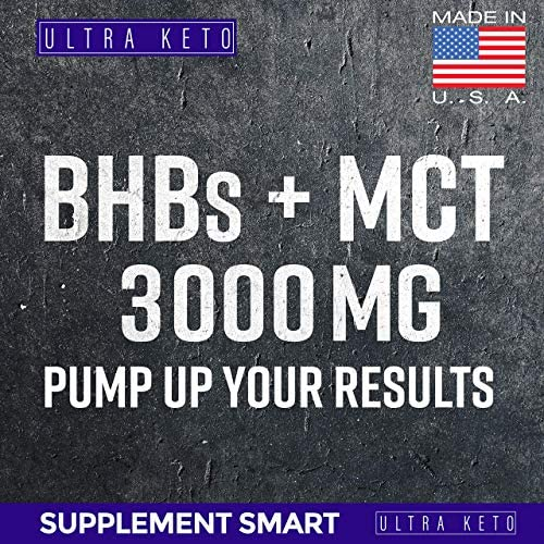 Best Keto Diet Pills - Utilize Fat for Energy with Ketosis - Boost Energy & Focus, Manage Cravings, Support Metabolism - Keto BHB Supplement for Women and Men - 30 Day Supply 8