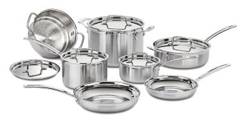 Cuisinart MultiClad Pro Stainless Steel Cookware