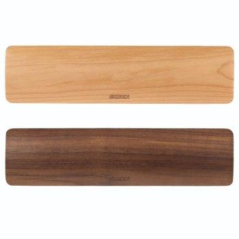 SAMDI 手首パッド 手のひらパッド リストレストパッド 疲労軽減 木製キーボード用(クログルミ)