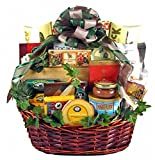 Group Therapy - Premium Gourmet Food Gift Basket - Meat, Cheese, Nuts, Smoked Salmon, Dried Fruit, Chocolate, Cookies & More - Christmas Holiday Gift Idea