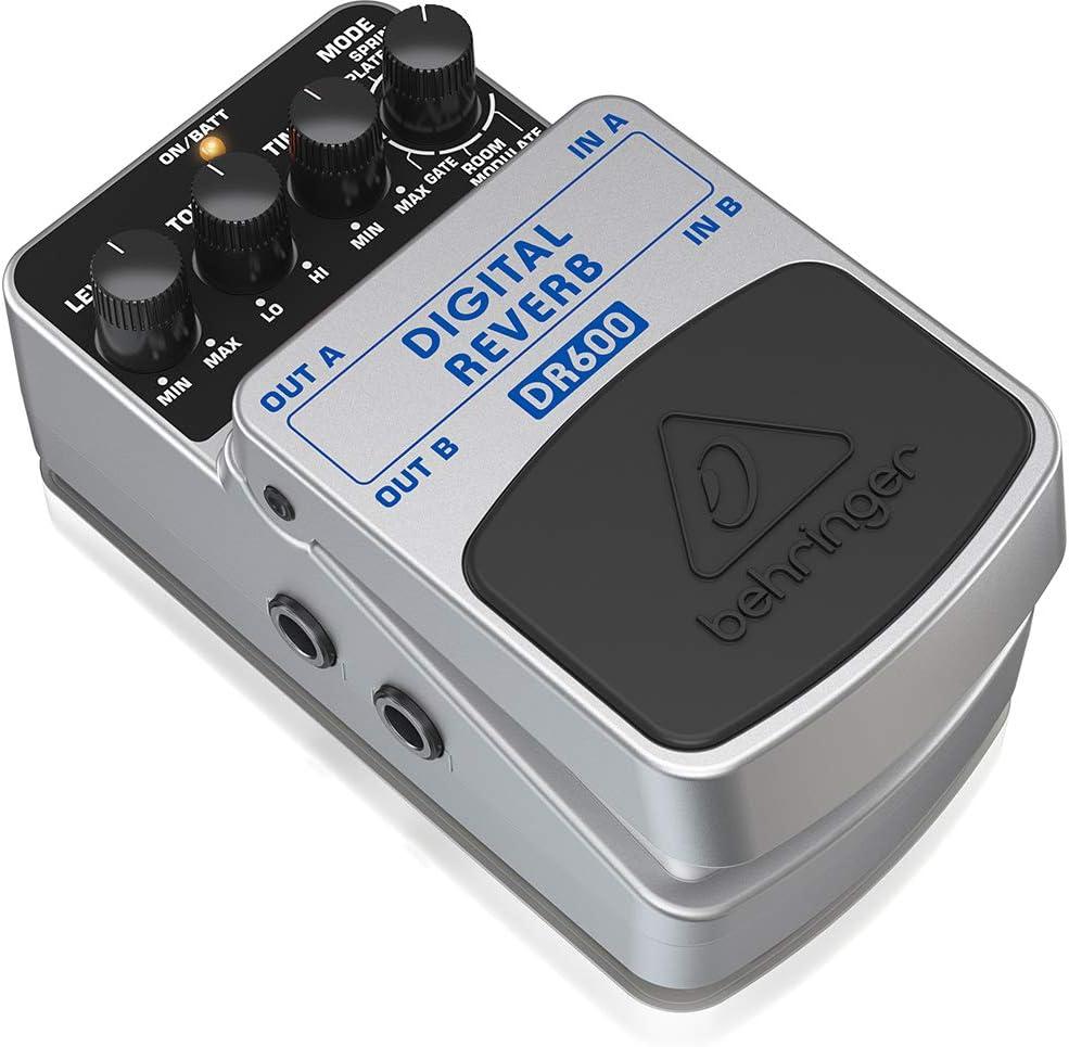Behringer DIGITAL REVERB DR600 Pédale d'effet reverb numérique
