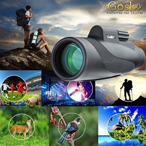 Gosky-Titan-12X50-High-Power-Prism-Monocular-and-Quick-Smartphone-Holder-Waterproof-Fog-Proof-Shockproof-Scope-BAK4-Prism-FMC-for-Bird-Watching-Hunting-Camping-Travelling-Wildlife-Secenery