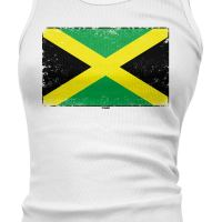 Jamaica Flag - Country Heritage Pride Juniors Tank Top