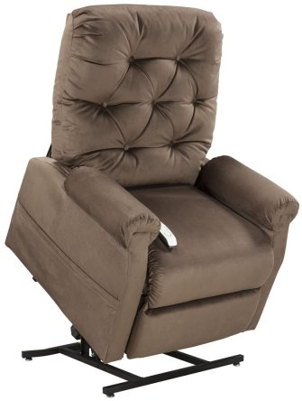 Mega Motion Lift Chair Easy Comfort Recliner LC-200 3 Position Rising Electric Power Chaise Lounger
