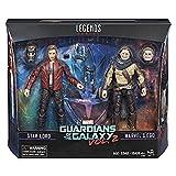 Marvel Figura de Acción Guardians of The Galaxy Star Lord y Marvel's Ego, 2 Pack