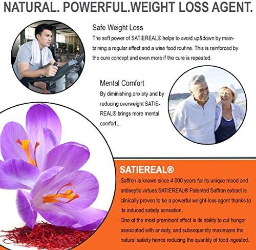 Genius Diet Pills – The Smart Appetite Suppressant That Works Fast for Safe Weight Loss, Natural 5-Htp & Saffron Supplement Proven for Women & Men – Cortisol Manger + Thyroid Support, 50 Veggie Caps 6
