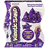 Kinetic Sand The One and Only, 1lb Shimmering Purple Amethyst Magic Sand for Ages 3 and Up