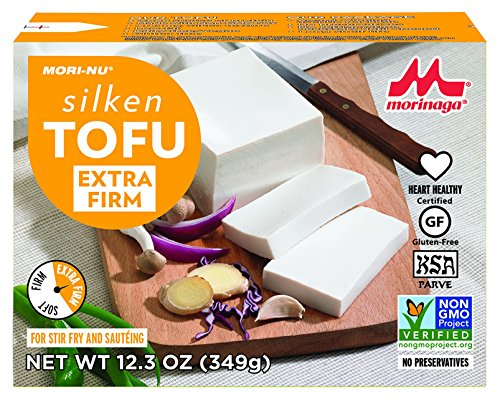 Mori-Nu Silken Tofu, Extra Firm, 12.3 Ounce (Pack of 12)