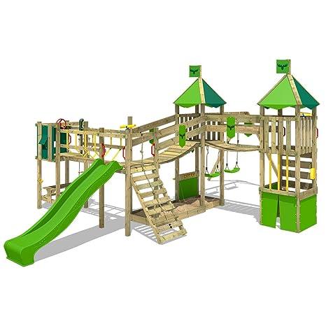Fatmoose Parco Giochi Funnyfortress Free Xxl Torre Da Gioco