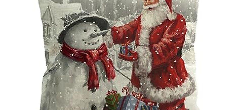 Cucire Federe Per Cuscini Letto.La Top 10 Federe Natale Cuscino Letto Al Miglior Nel 2018