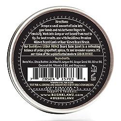 Urban Prince Beard Balm Leave in Conditioner Beard Butter Moisturizer Premium Refreshing Scent 2 oz - Best Leave in Conditioner Scented Beard Balm Gift Bearded Men  Image 2