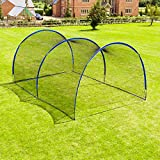 Fortress Pop-Up Baseball Batting Cage - Backyard Batting & Pitching Practice [20ft Or 40ft] (20ft Batting Cage)