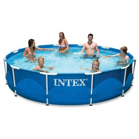 Intex 12ft X 30in Metal Frame Pool SetBlack Friday Deal 2019