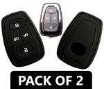 Silicone Smart Key Cover Compatible with Tata Nexon