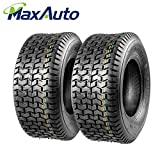 Set of 2 16x6.50-8 16/6.50-8 6-6.50-8 16x650x8 Turf Tires 4Ply Tubeless for John Deere Lawn Tractor Turf Saver