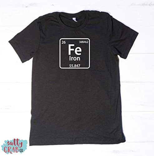 Iron Man Fe Periodic Table Of Elements Costume Science Chemistry Teacher Funny Easy