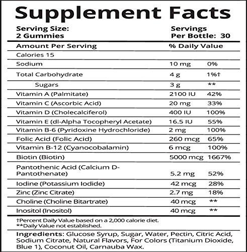 SugarBearHair Vitamins (1 Month Supply)
