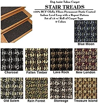 8 X24 Dog Assis8 X24 Dog Assist Carpet Stair Treads Tahoe | Carpet For Stairs Amazon | Indoor Stair | Anti Slip | Stair Runner Rugs | Self Adhesive | Beige