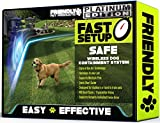 Friendly Pet Products Wireless Dog Fence, Outdoor Pet Fence w/Radio & In-Ground Cord Electric WiFi Transmitter - Platinum Edition