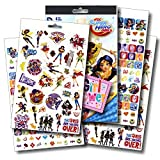 DC Comics Super Hero Girls Stickers Bundle with Specialty PopArt Sticker by DC Studios