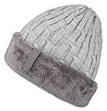 Product review for Spikerking Mens Knitting Caps Winter Hats Beanie Skull Hat With Thick Lining
