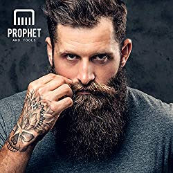 PREMIUM Beard Balm Butter and Wax Formula For Men Grooming! Adds Mild Styling & Hold, Softens Beards & Mustache, Gives Shine and Promotes Fuller Thicker Beard Oil Hair Growth! Prophet and Tools  Image 2